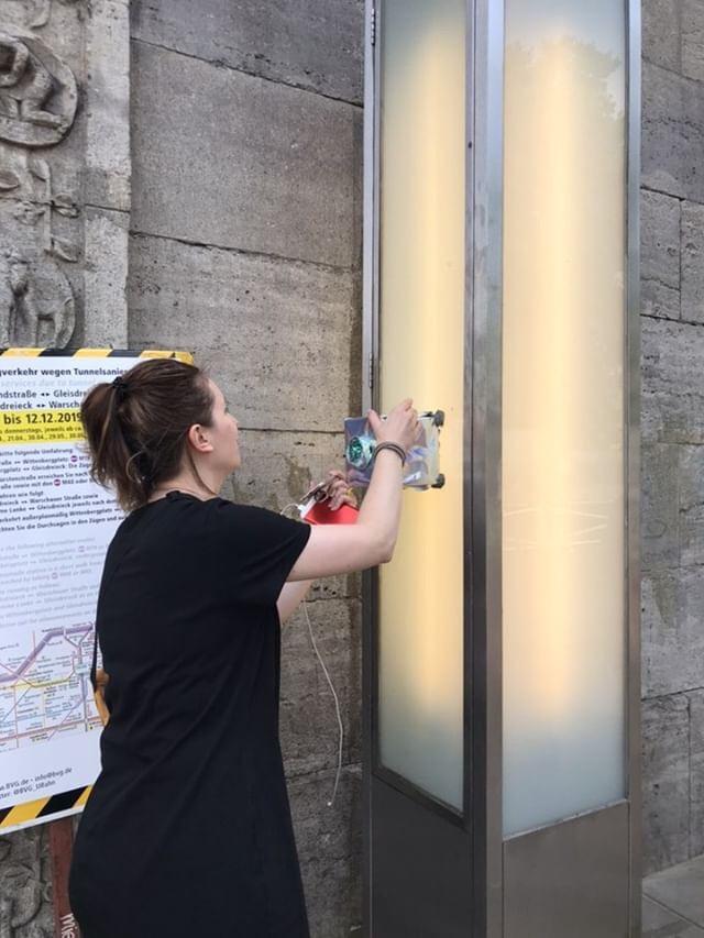 Nolli – public intervention with sound (the genderless urban voice assistant)