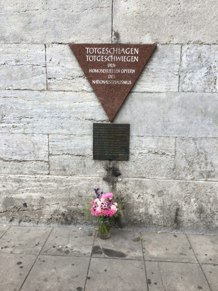 Memory place of homosexual victims of the National Socialism regime in Nazi Germany. Nollendorfplatz in Berlin